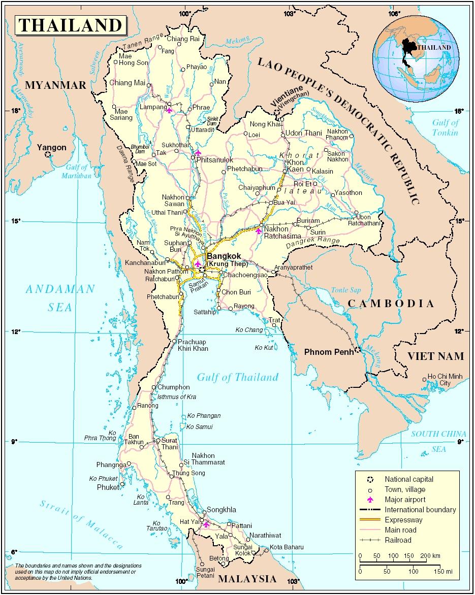 Thajsko Laos Vietnam Kambodza Cestovateľske Rady Itinerar A
